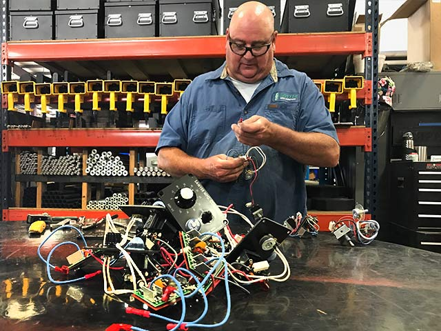 Electrical component assembly