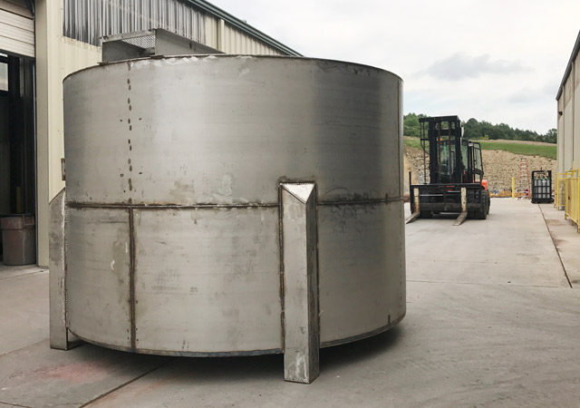 Stainless Steel Mixing tank for food industry