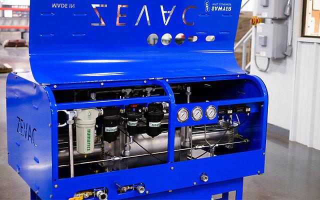 Zevac system built by Sawyer Fabrication