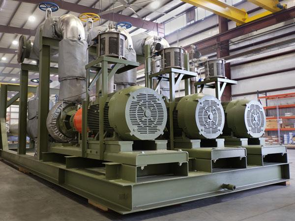 Gas Lifting Skid built by Sawyer Fabrication