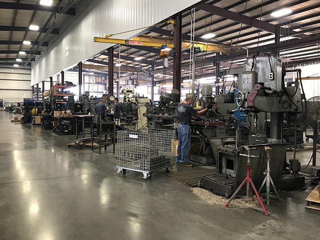 Machine Shop at Sawyer