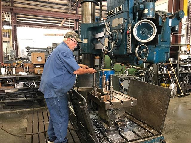 Manual machining