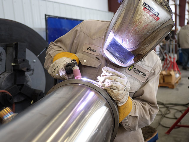 Welding Stainless Steel tank