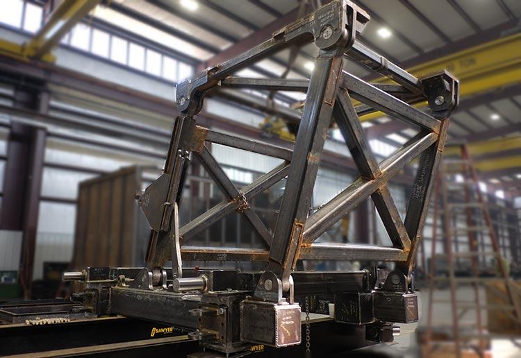 Lifting Link construction at Sawyer Fab