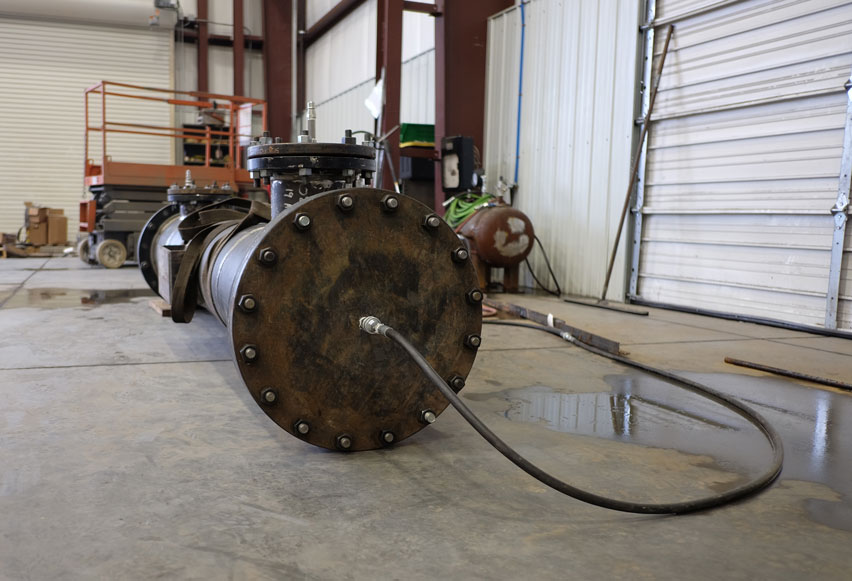 Pipe Spool Hydro Testing
